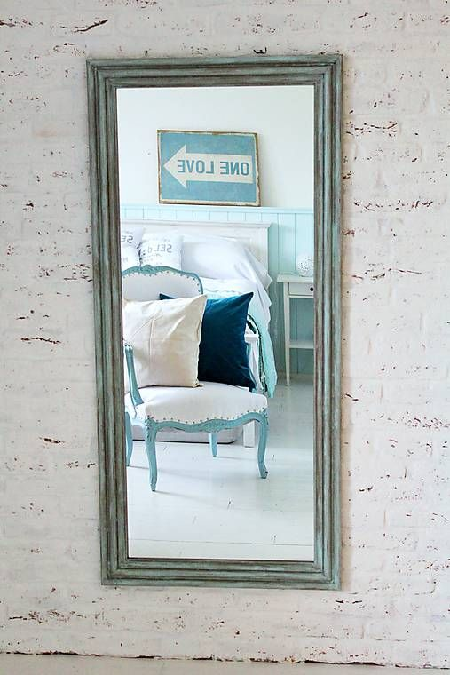Zrkadlo CAROLINA MINT 150x70cm
