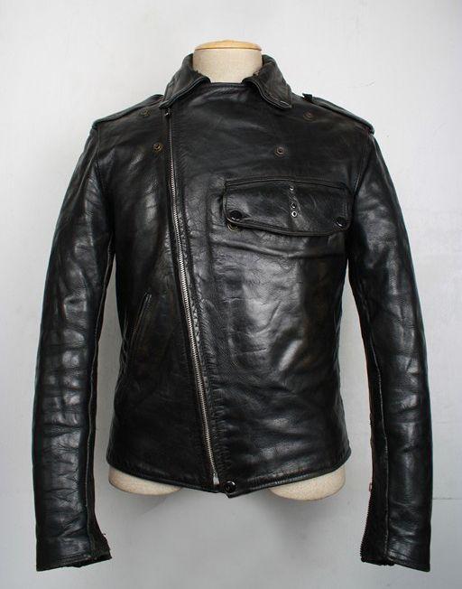 VINTAGE BUCO: PJ 27 1940s leather jacket | Vintage