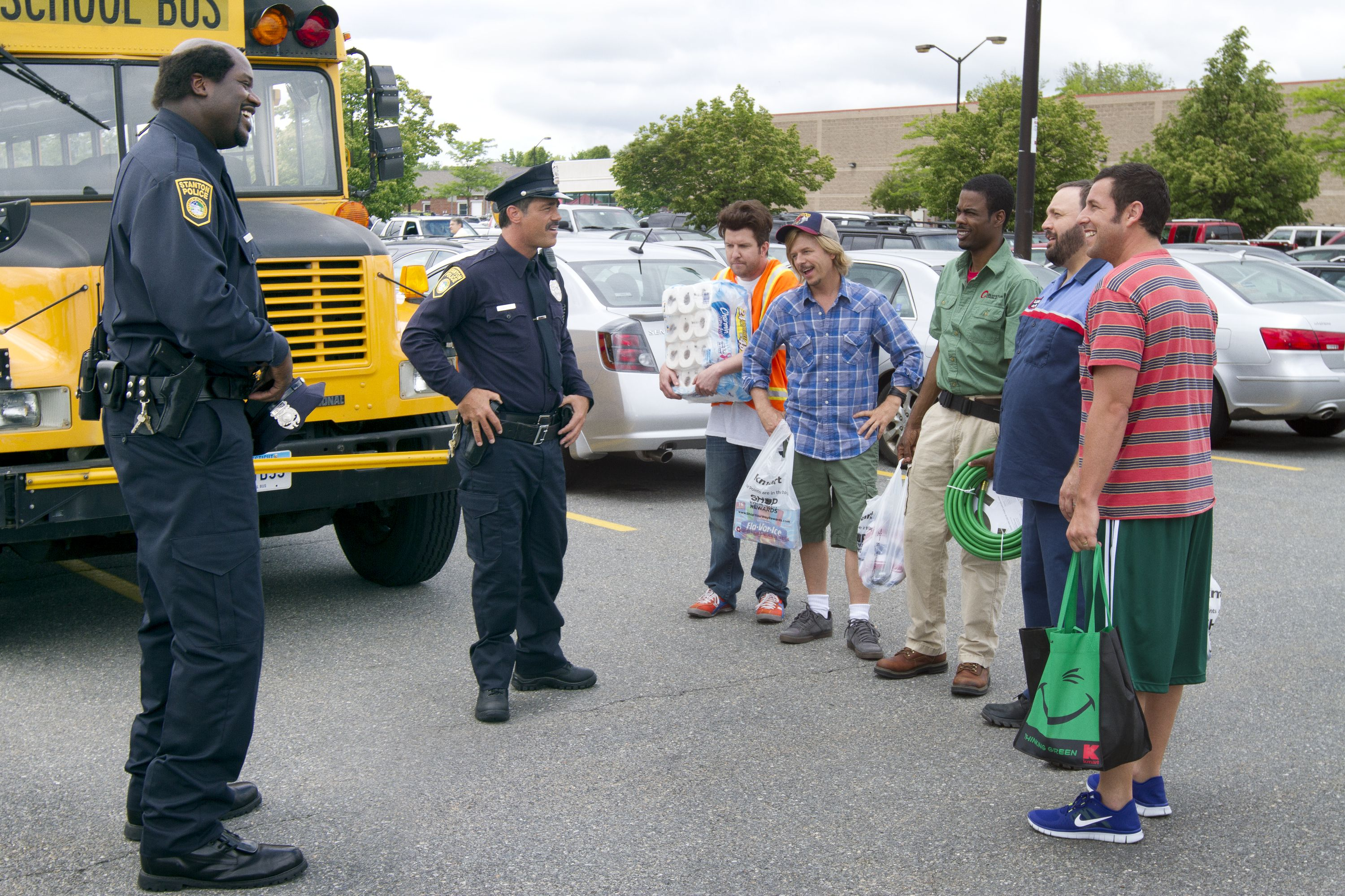 Shaquille O Neal Is Officer Fluzoo In Grown Ups 2 With Images