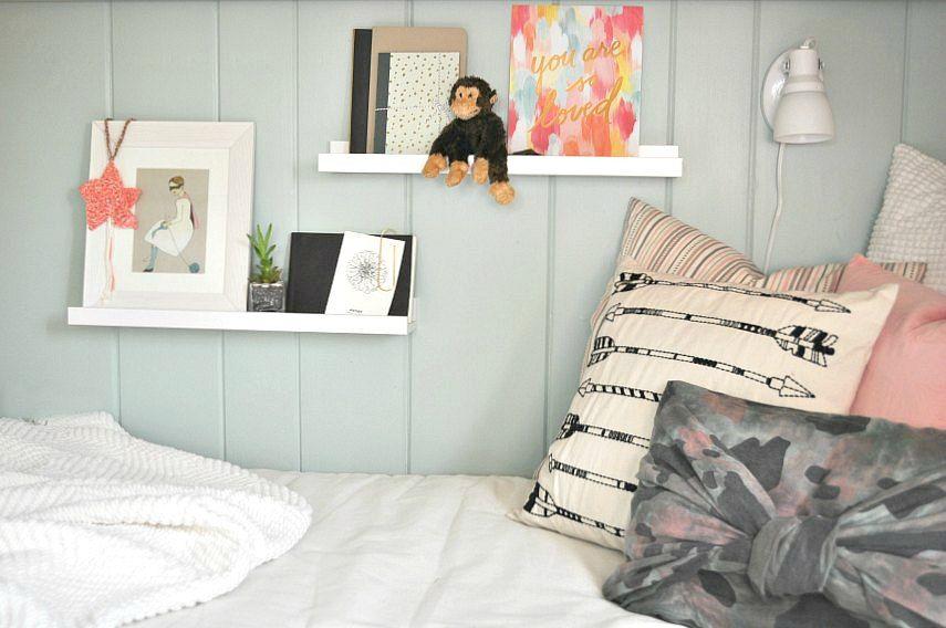 Lulu S Bedroom Behr Jade Tinge Behr Paint Colors Girls Bedroom Kids Room
