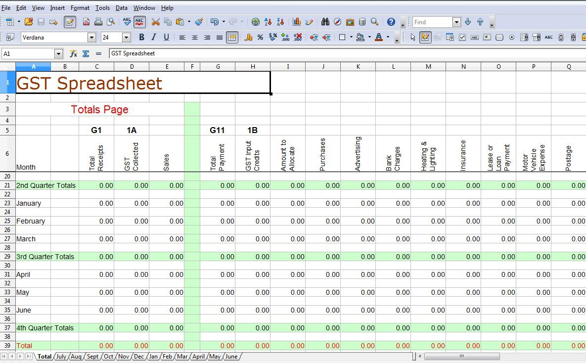 Tithing Spreadsheet Example Business Templates