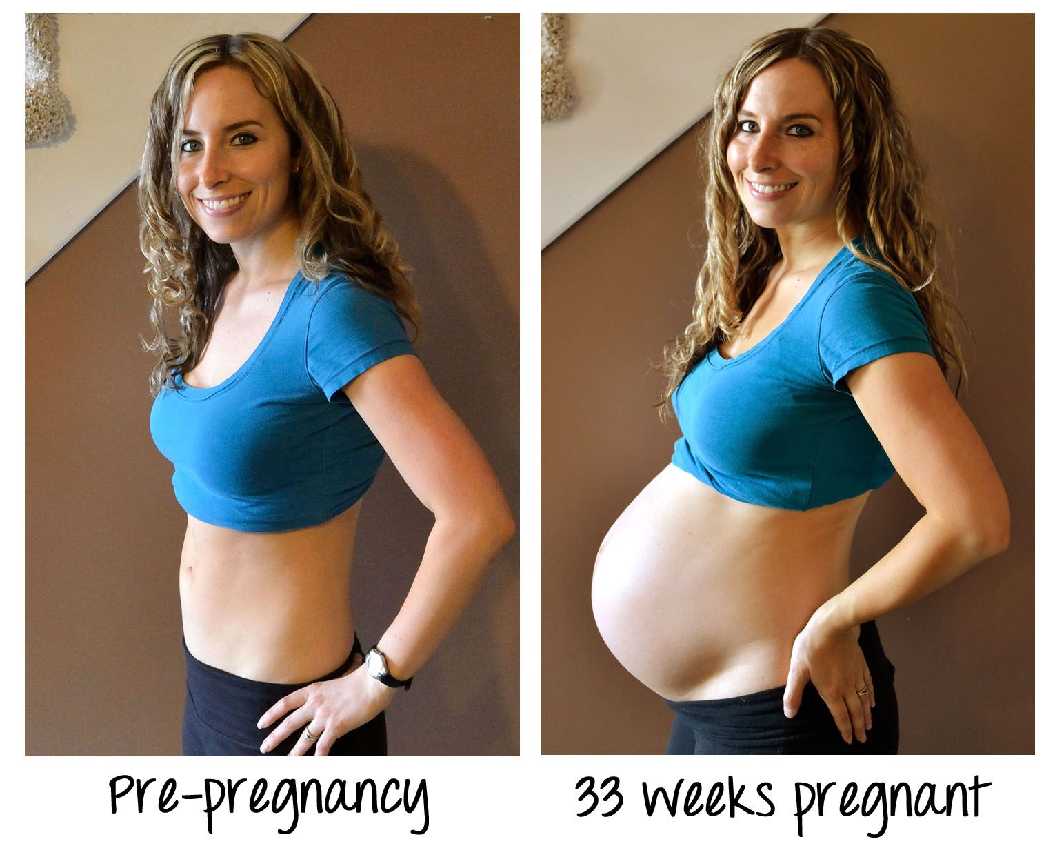 How does weight gain during pregnancy last for weeks