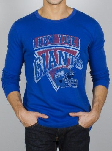0f074a4eac9 Junk Food Clothing Co. NFL New York Giants Thermal.
