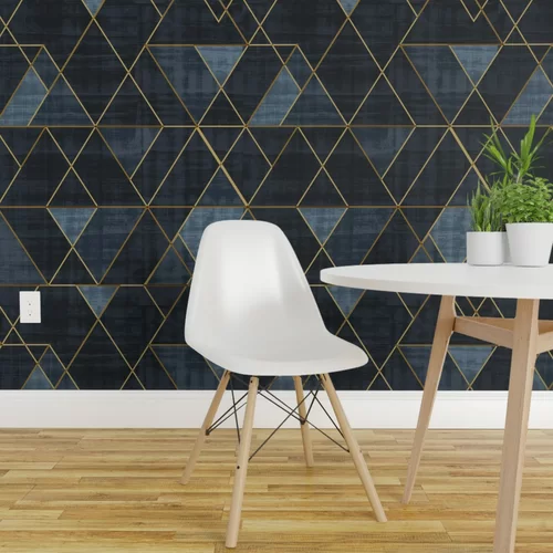 Clarkson Geometric Removable Peel And Stick Wallpaper Panel Geometric Removable Wallpaper Removable Wallpaper Wallpaper Panels