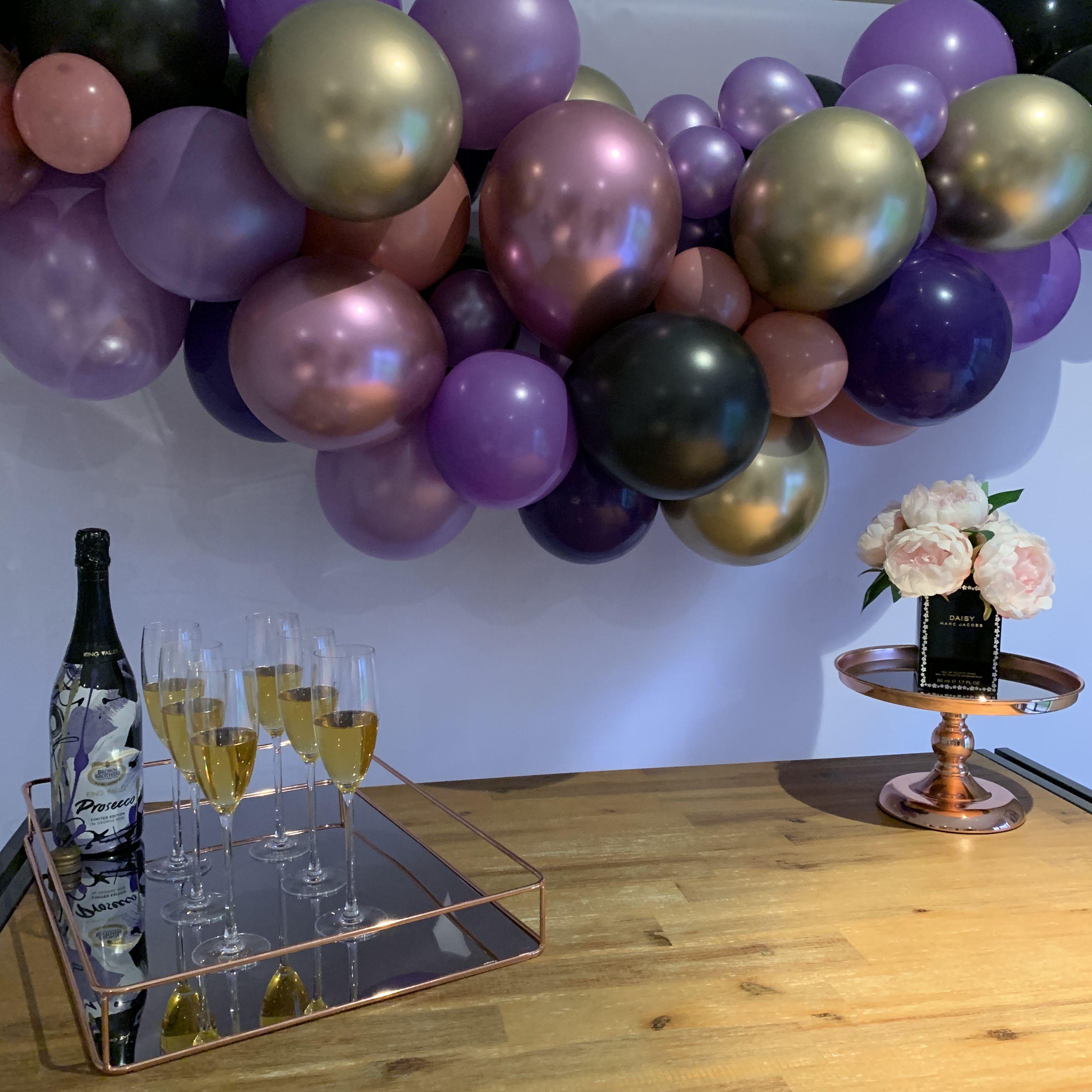 Bridal Shower set up Shower set, Event decor, Balloon