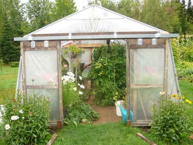 Serre Avec Abri Tempo Avec Images Entretien Jardin Jardinage