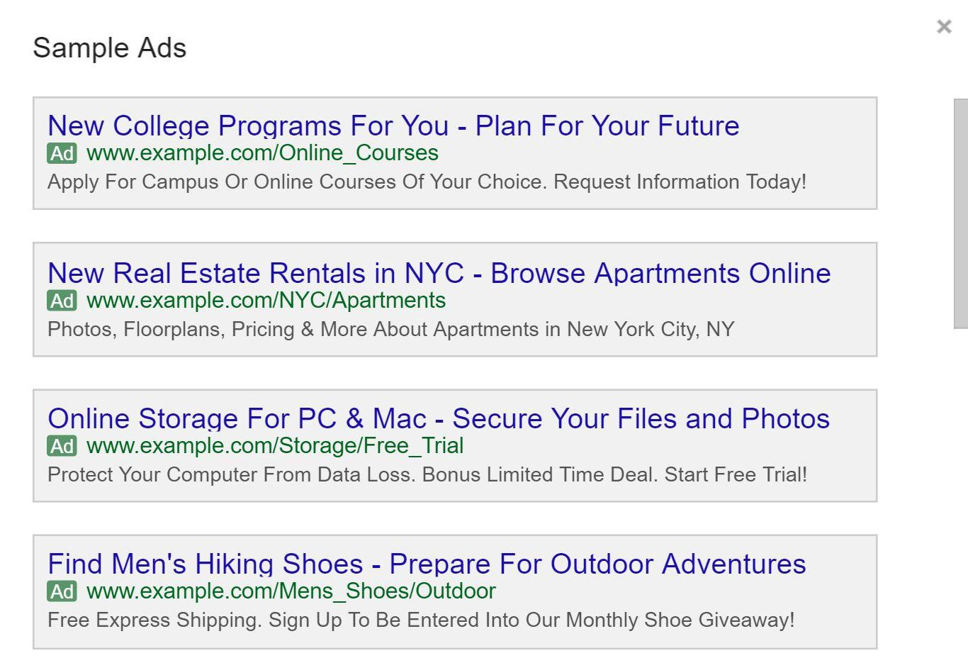 Google Has Updated The Adwords Ad Preview Tool For Expanded Text