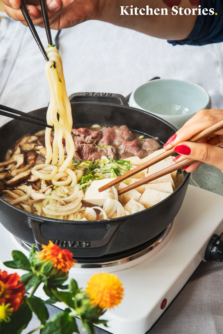 Photo of Sukiyaki (Japanese stew) Recipe | Kitchen stories