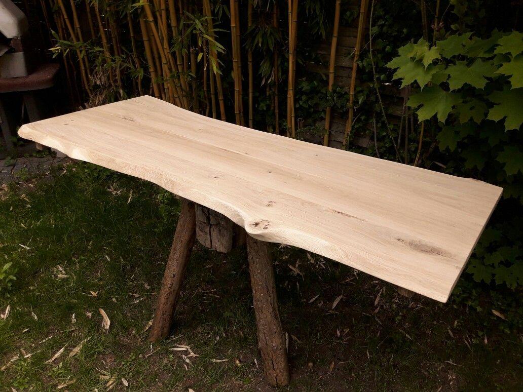 Gartentischplatte In Eiche Holzdesign Holz Eiche