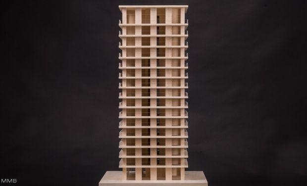 Modellbau Milde Berlin   Chipperfield Architekten   Hochhaus Antwerpen    Architektur, Design, 3D Und Kunst Modellbau