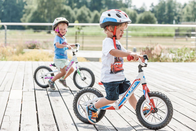 Wie Kinder Sicher Radfahren Lernen Kleinkind Fahrrad Fahrrad