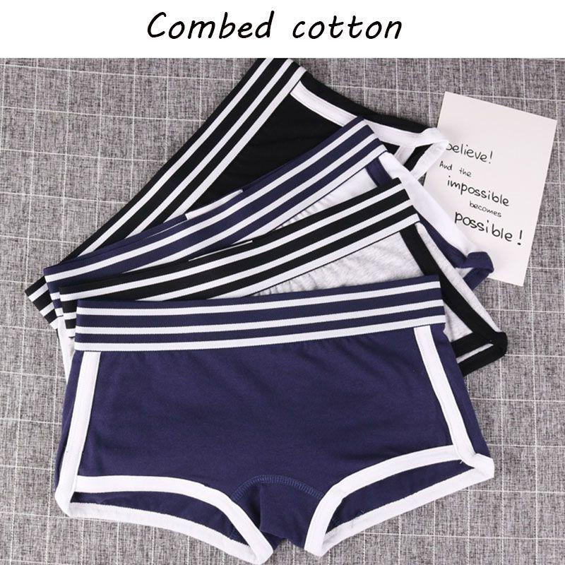 Fashion Women Underwear Breathable Push Up Briefs Panties Underpants Shorts