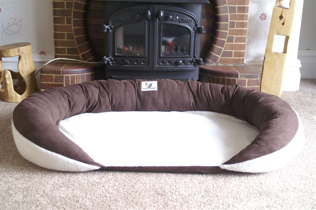 dog beds | xxl 52in supportive dog bed for the largest of breeds