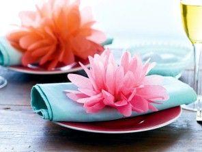 Papierblumen basteln - so geht's