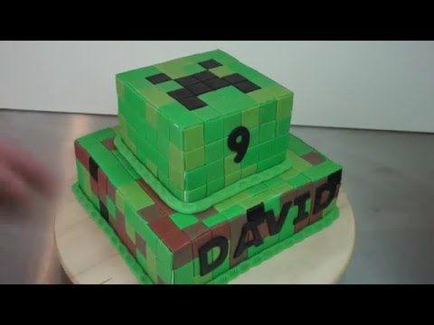 Minecraft Torten Fail Minecraft Torten Tutorial Fondant Torte