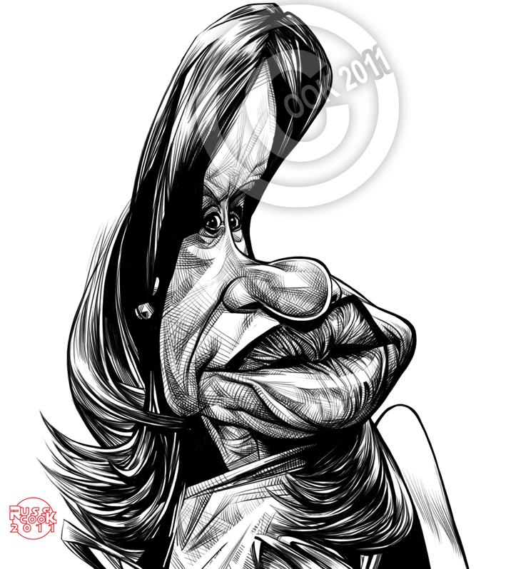 Cristina Fernandez De Kirchner by RussCook ~ Ʀεƥɪииεð вƴ╭•⊰✿ © Ʀσxʌиʌ Ƭʌиʌ ✿⊱•╮