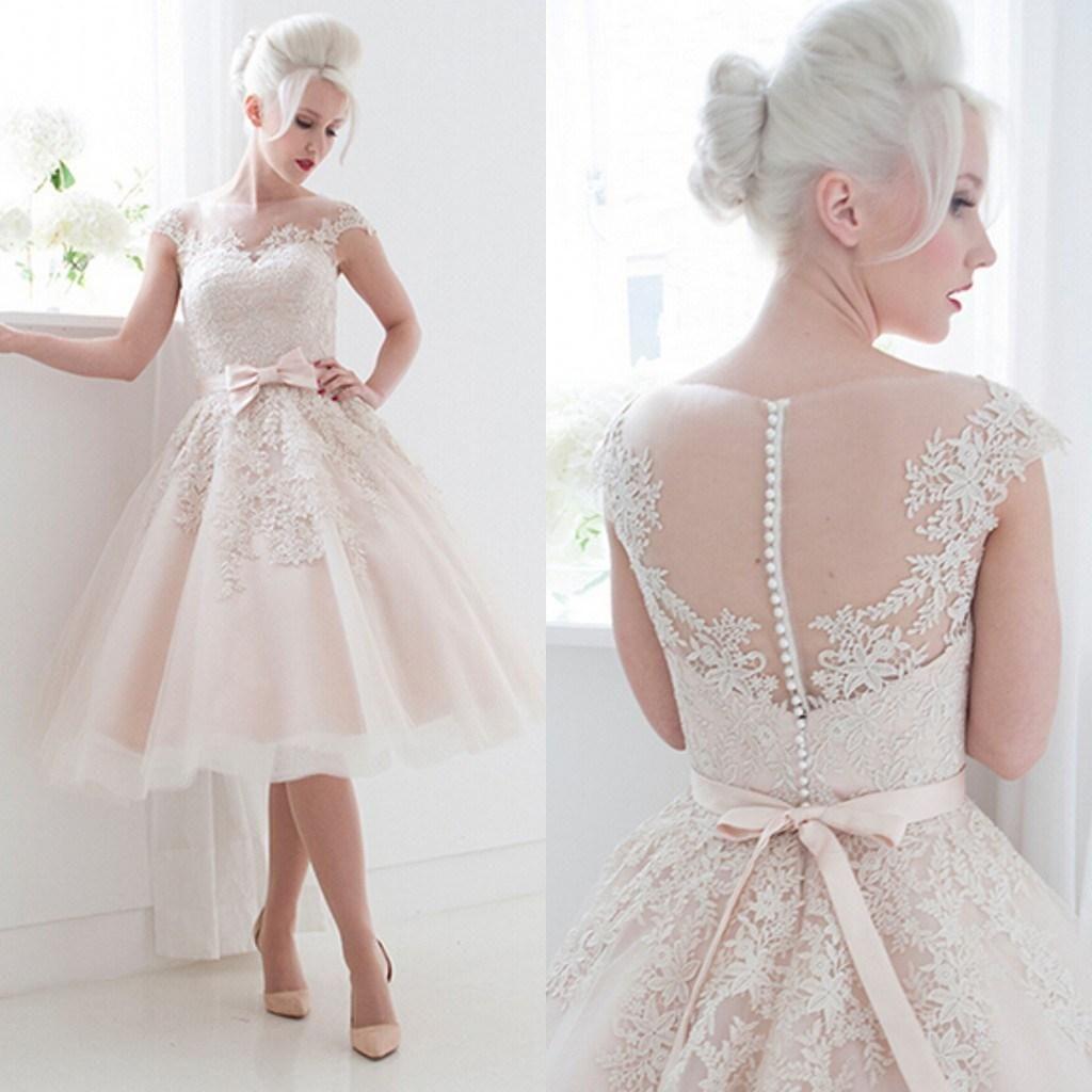 Short Casual Wedding Dresses 2015