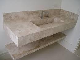 Pias De Banheiro Em Marmore C Parteleira De Marmore Em Baixo