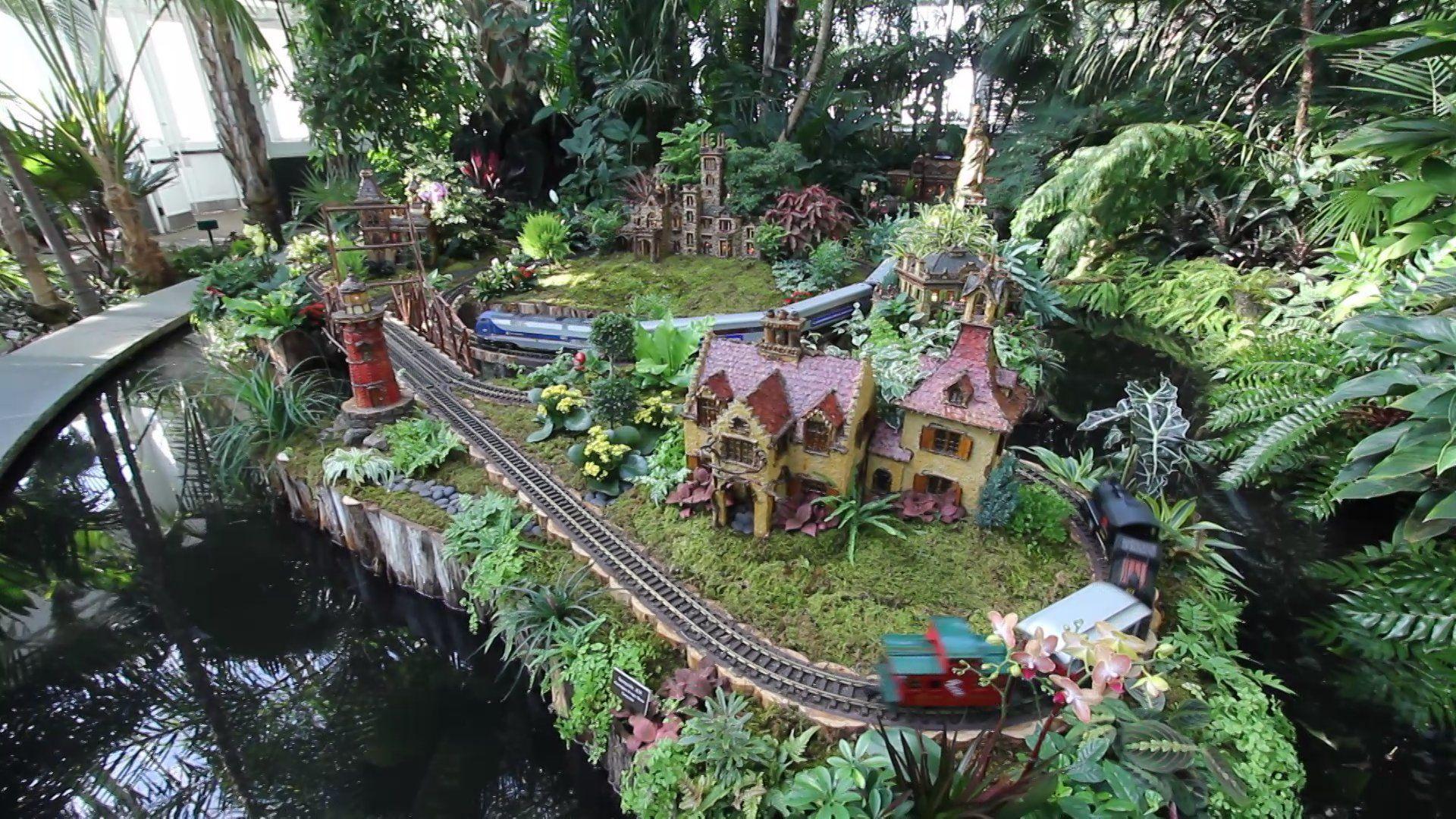 The New York Botanical Garden Holiday Train Show