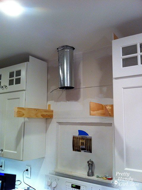 How To Build A Custom Wood Range Hood Kitchen Range Hood Wooden Range Hood Wood Range Hood