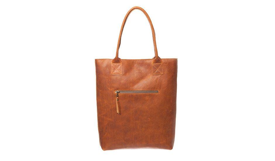 MONOQI | Jan Deluxe Shopper Bag - Lt Br