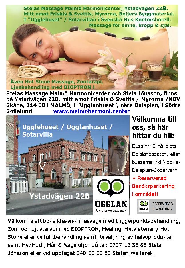 klassisk massage malmö