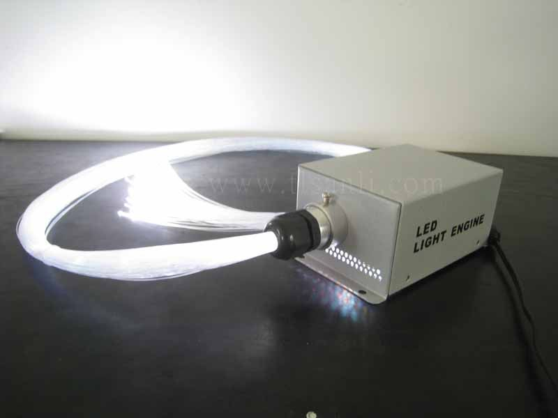 LED light source for fiber optic light kit