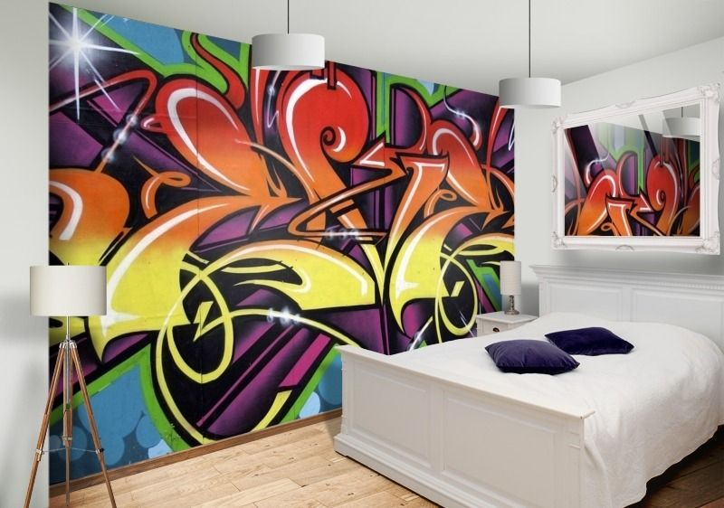 painted bedroom walls - Google zoeken | Wall paintings | Pinterest ...