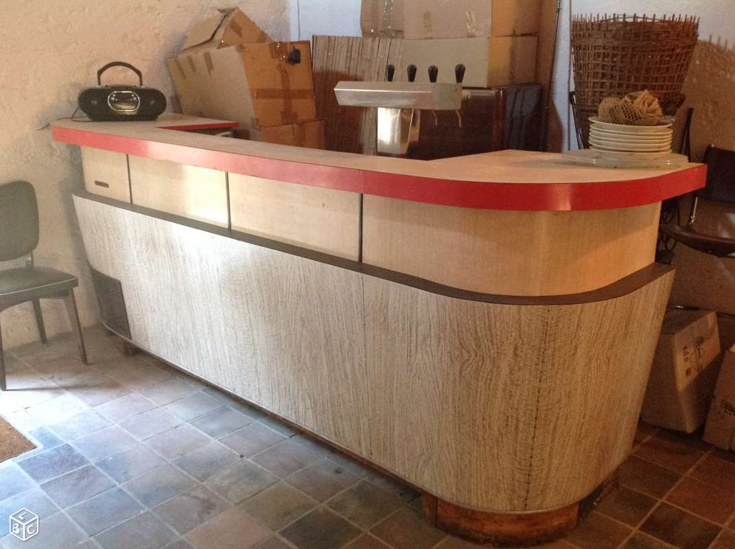 Bar Bistrot Formica Vintage D Coration Doubs Leboncoin Fr  # Meuble Tv Leboncoin