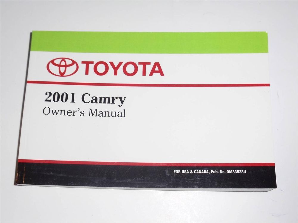 2001 toyota camry owners manual book owners manuals pinterest 2001 toyota camry owners manual book fandeluxe Image collections