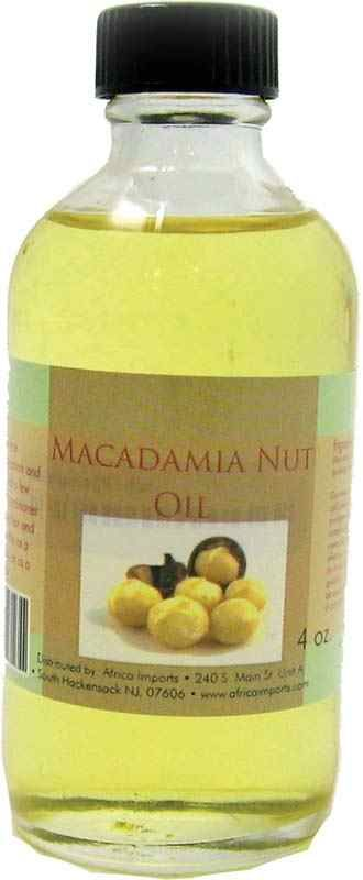 Macadamia Nut Oil Nourish your skin with rapidly-healing macadamia nut oil. This oil tones aged or dry skin, softening and healing wounds, scarring, lines, and stretch marks. It is also recommended by nutritionists for cooking, as it is beneficial for heart health and diabetes. It has a mild taste that goes well with anything! Originates in Australia.