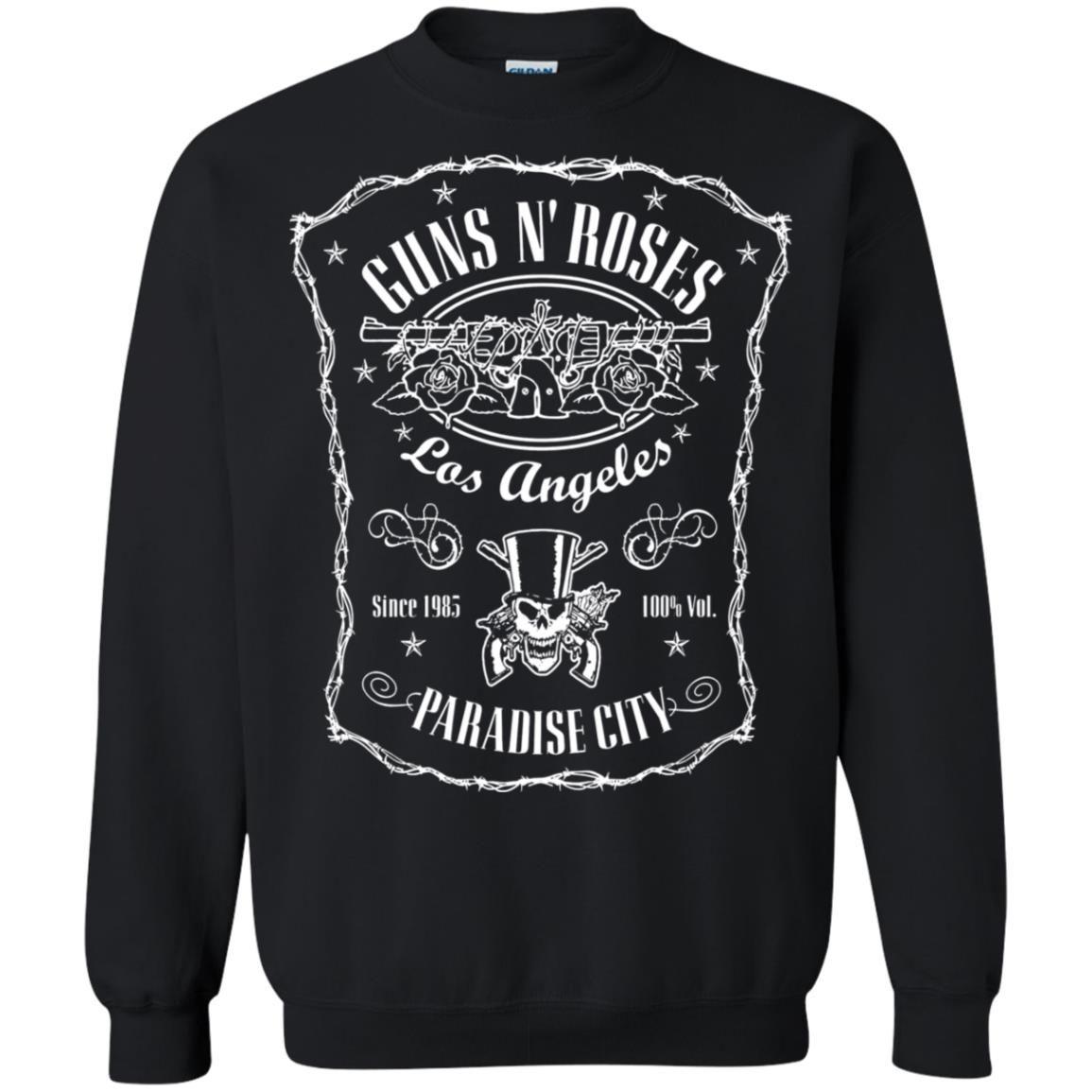 Paradise City Label Guns N Roses Pullover Sweatshirt Zamrie In 2020 Pullover Sweatshirt Sweatshirts Paradise City