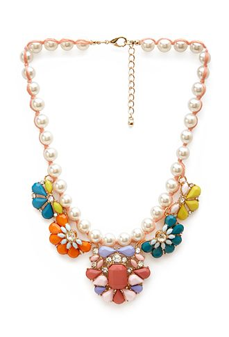 Candy Crush Faux Stone Necklace | FOREVER21 - 1000122397