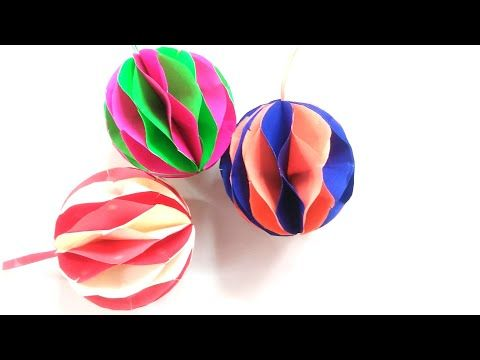 Photo of Paper ball – Origami ball – Christmas ball – christmas decorations – Easy paper crafts