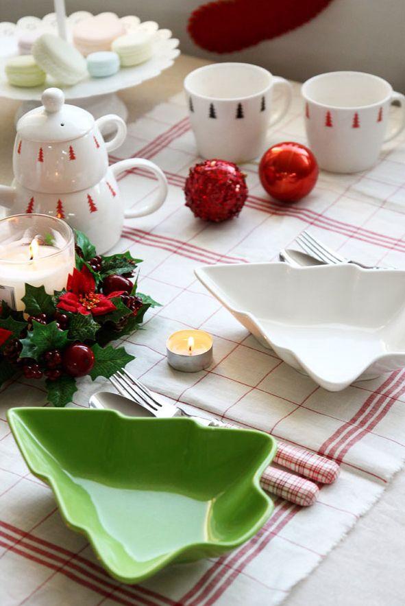 크리스마스 테이블 스타일! #크리스마스 #테이블웨어 #접시 #트리 ...