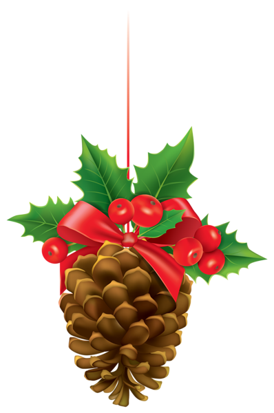 35+ Christmas pine cone clipart information