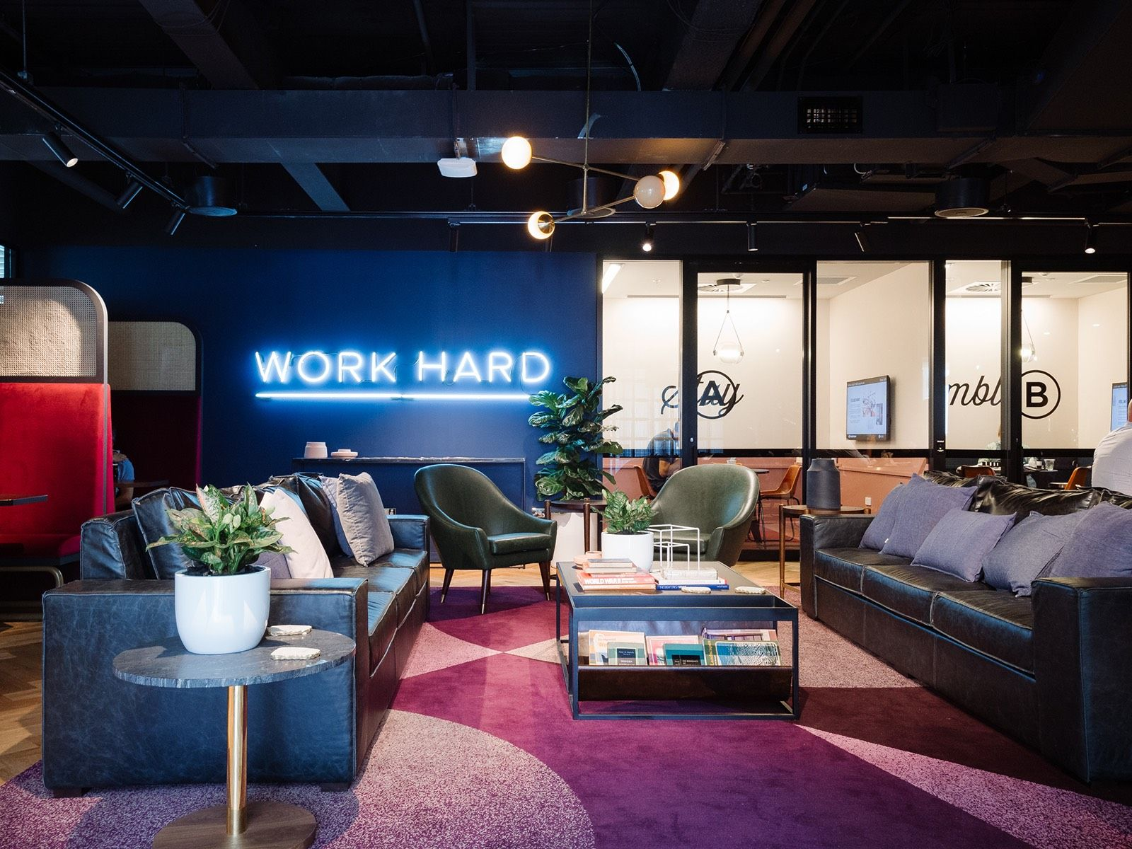 Inside WeWork's Sydney Coworking Space   Office Design Ideas   Open space office, Coworking ...