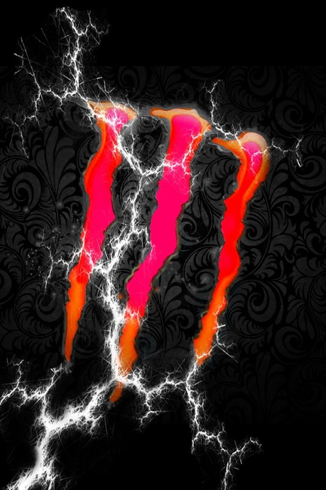 Lightning Strikes The Monster Energy モンスターエナジー Iphone