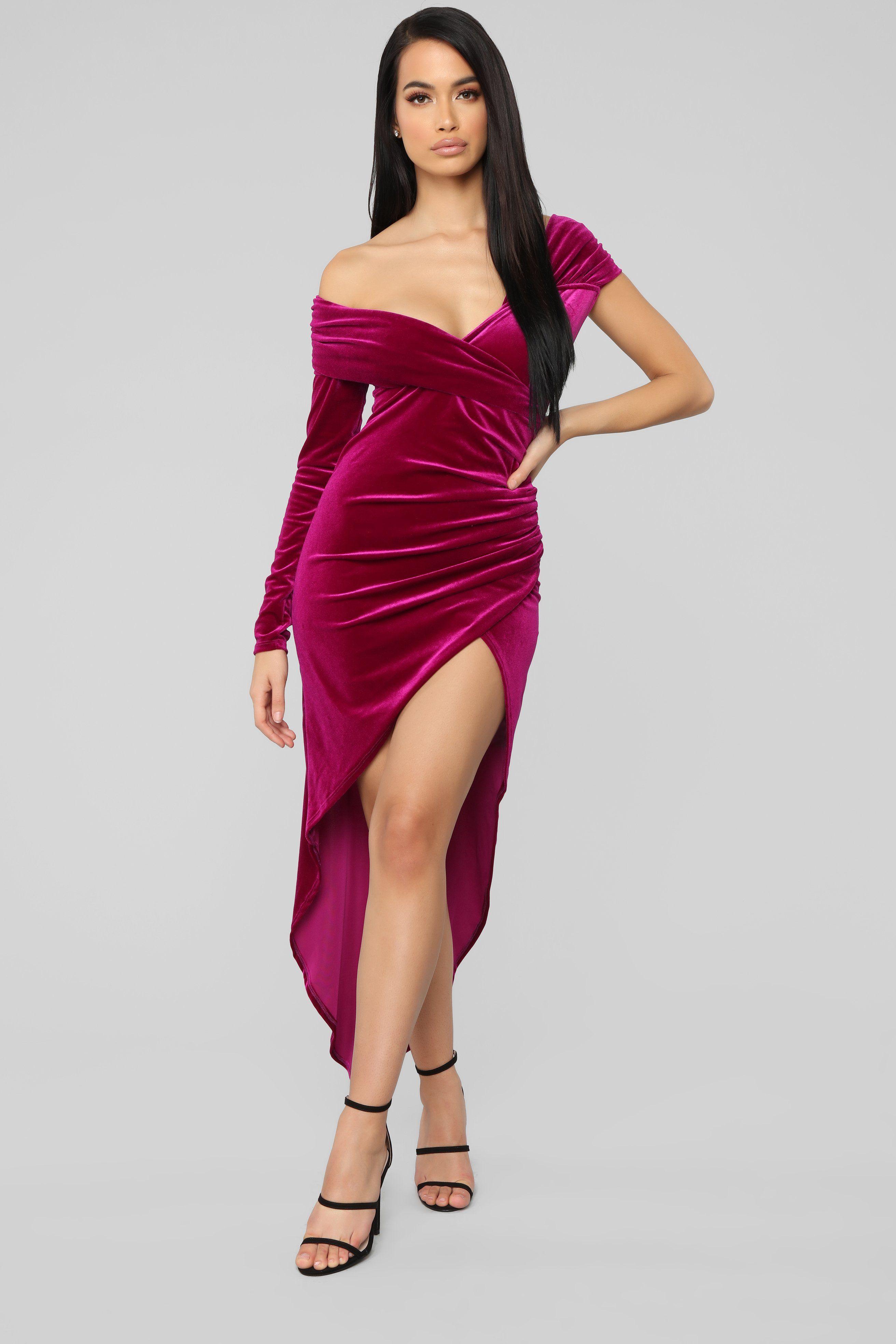Fashionnova Making Headlines Velvet Dress Purple Rona Mahal Product Page Https Www Fashionnova Com Products Making Headlines Vel [ 3936 x 2624 Pixel ]