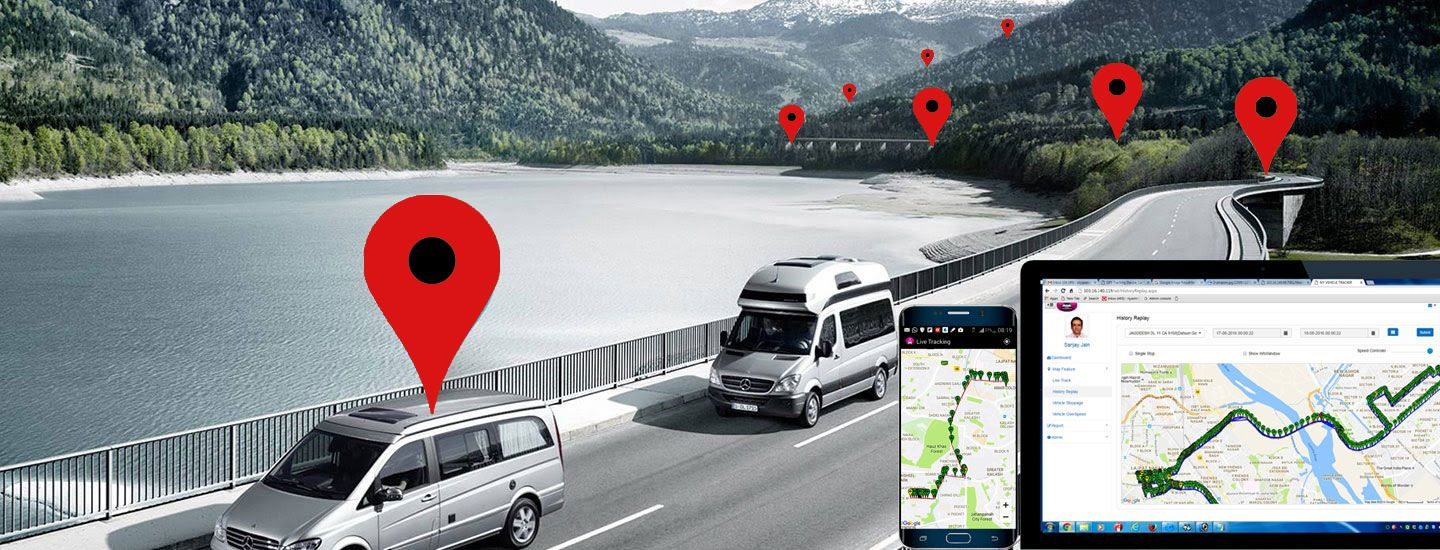 Gps tracker for car in lucknow vehicle tracking system