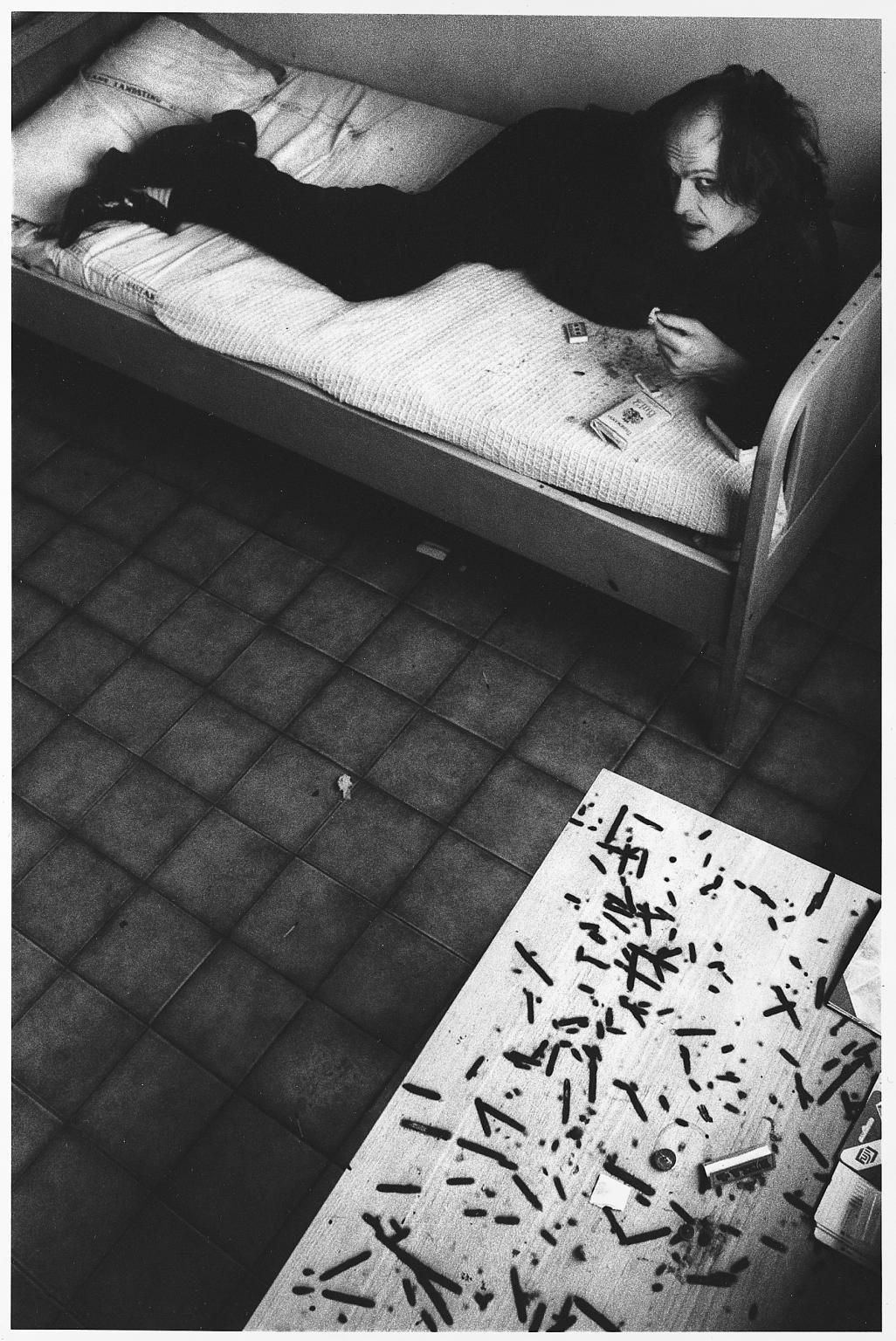 Anders Petersen, Mental Hospital, 1995 .Artwork