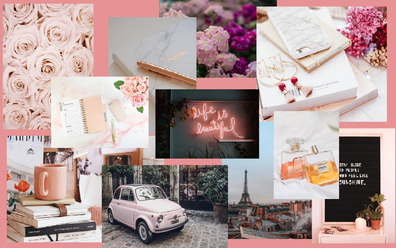 Aesthetic life short tumblr quotes; Paris in pink in 2020   Macbook pro wallpaper, Macbook ...