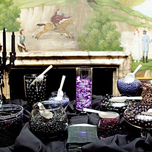 Candy buffet MoonRoq Wedding Pinterest Weddings - halloween party decorations cheap