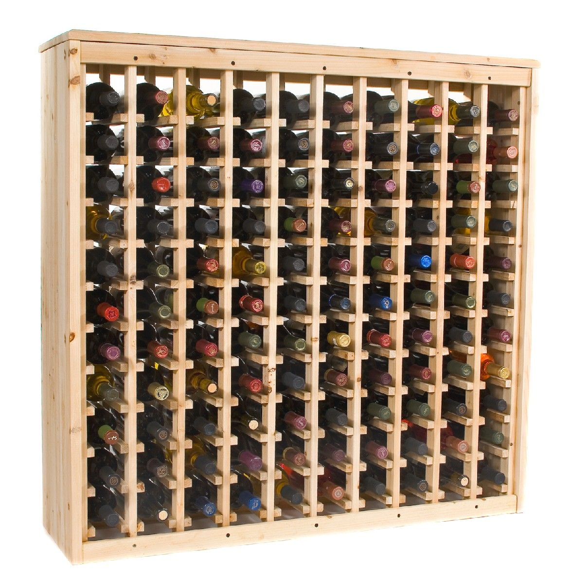 Make your own wine rack...cool | For the Home | Pinterest | Wine ...
