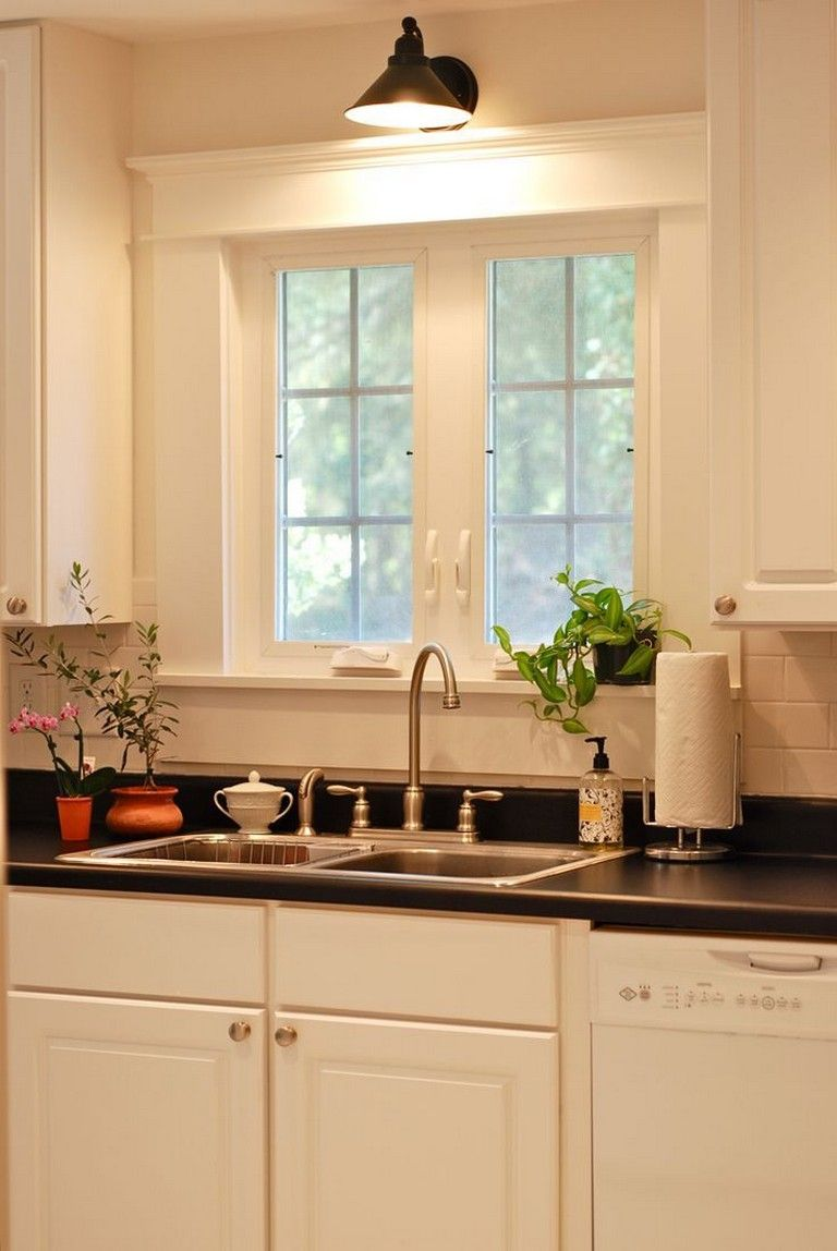90 finest sconce over kitchen sink