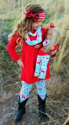 Baby Girl's Christmas Snowflake Reindeer 3-Pc Outfit – Swanky Dudz Kid's Boutique