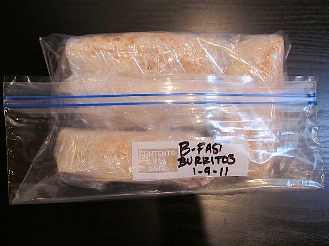 freezer breakfast burritos - Budget Bytes