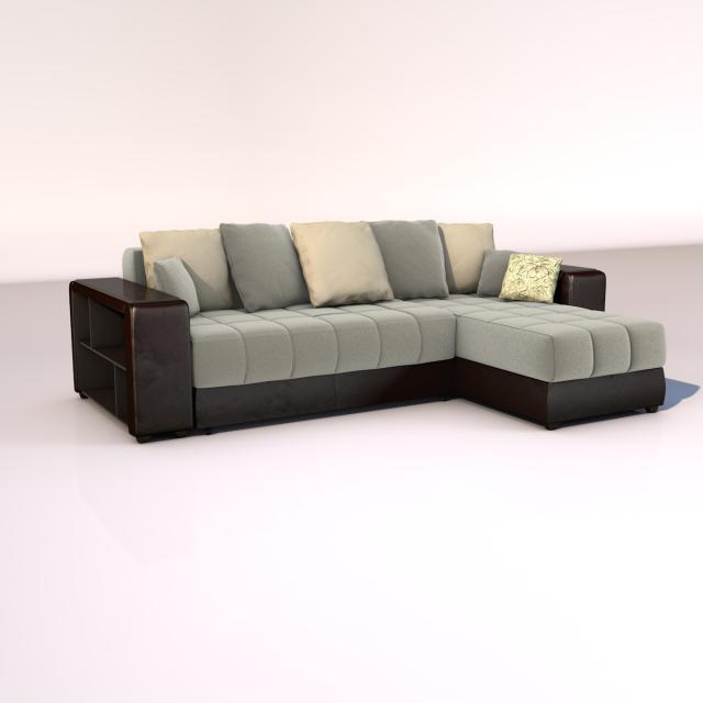 Corner Sofa Dubai 3d Model Max C4d Obj 3ds Fbx Lwo Stl 3dexport Com By Nechelim Corner Sofa Sofa Sectional Couch