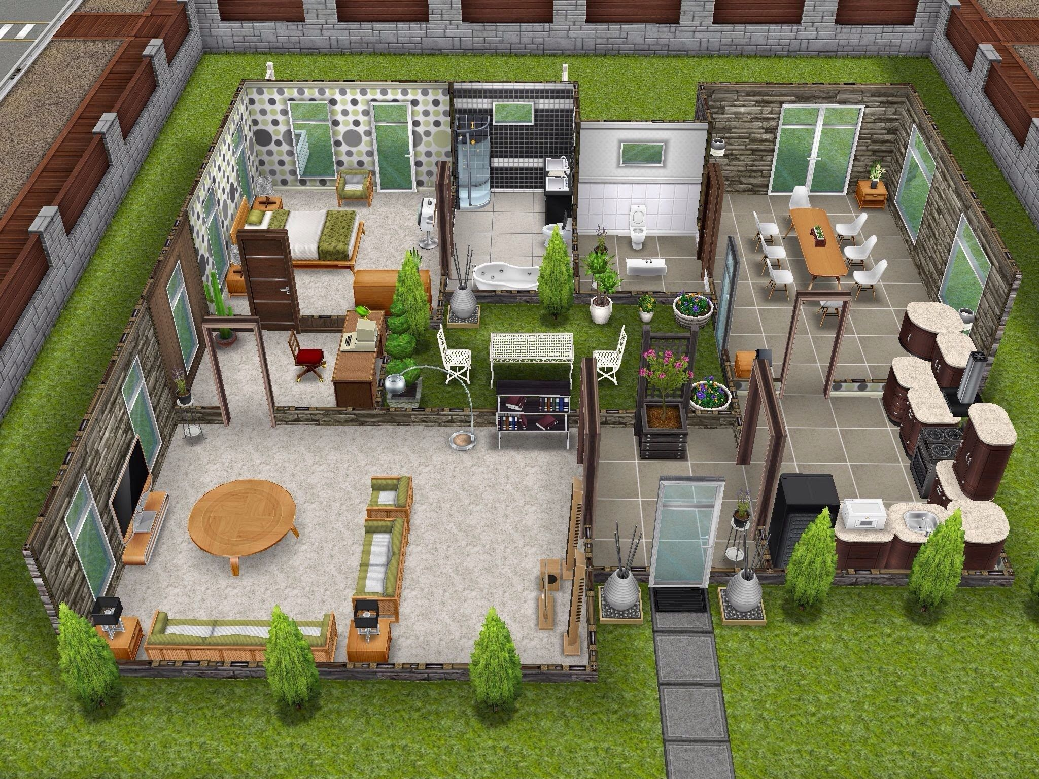 Sims pinterest sims for Casa de diseno sims freeplay