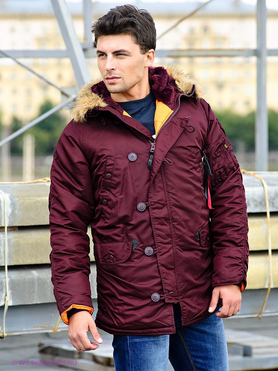 e0df8432238 Куртка Slim Fit N-3B Parka  аляска  парка  куртка  мужская куртка  зимняя  куртка…